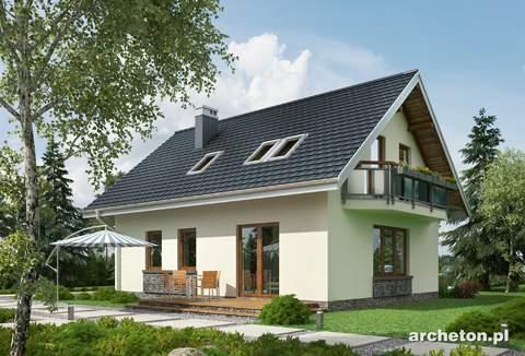 Projekt domu Drobina-2