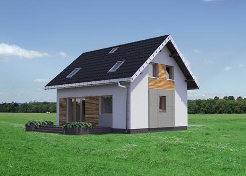 Projekt domu Drops