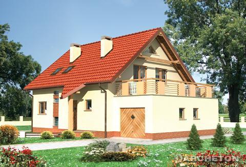 Projekt domu Drozd