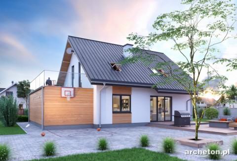 Projekt domu Drozd Eko