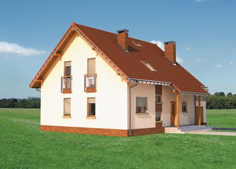 Projekt domu Drozd Neo