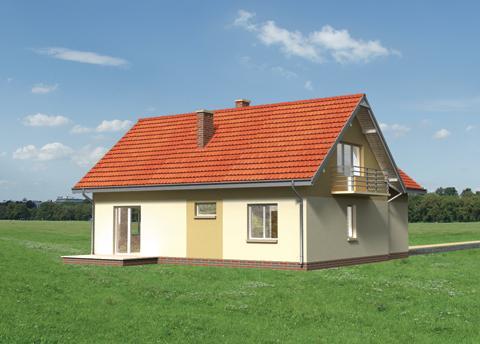 Projekt domu Dudek