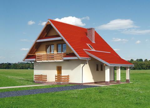 Projekt domu Duży Skrzat