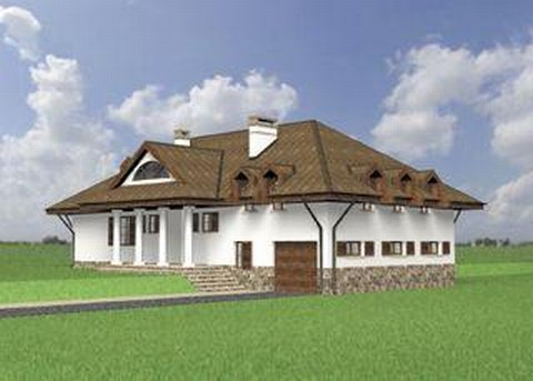 Проект домa Двор