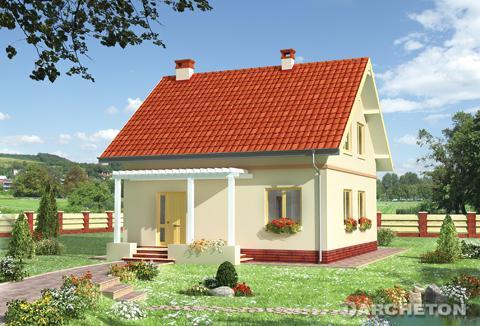 Projekt domu Dyl-2