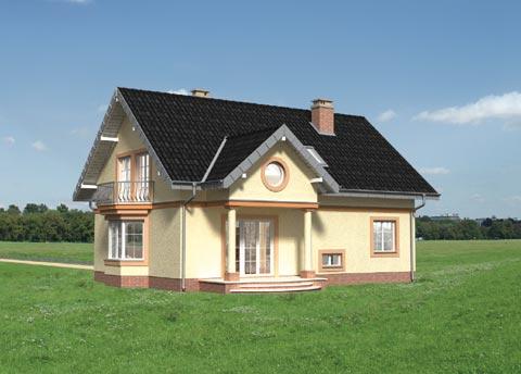 Projekt domu Dymsza