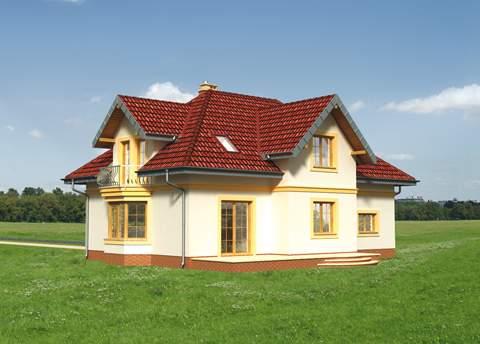 Projekt domu Dymsza Lux