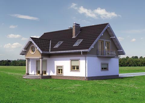 Projekt domu Dymsza Polo
