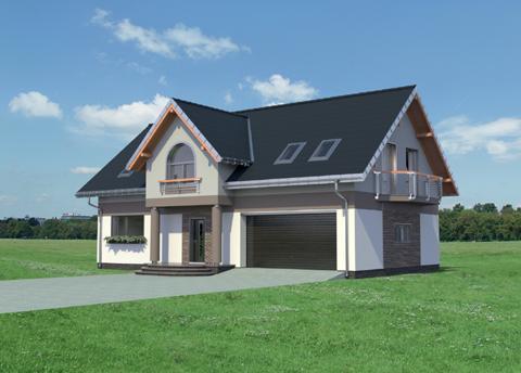 Projekt domu Dymsza Polo G2