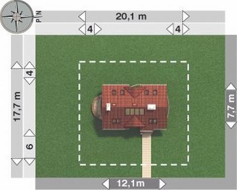 Projekt domu Dziewanna