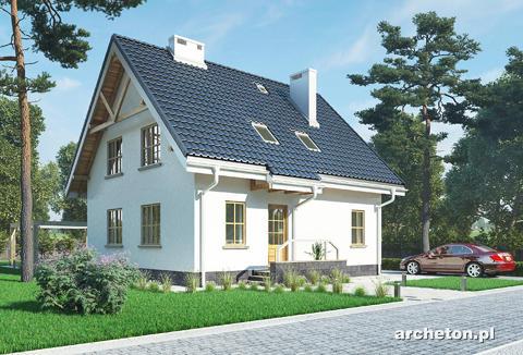 Projekt domu Dzwonek