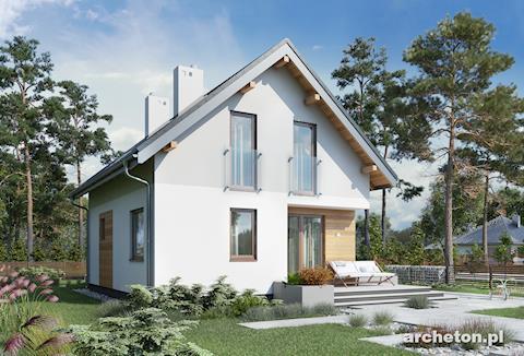 Projekt domu Eklerka