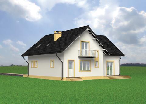 Projekt domu Emil