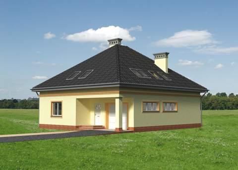 Projekt domu Eryk