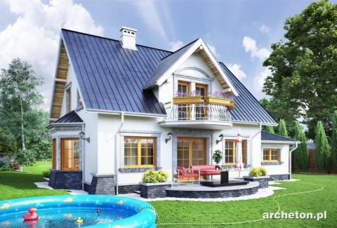 Projekt domu Estera