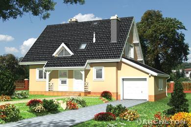 Projekt domu Ewa z piwnicą
