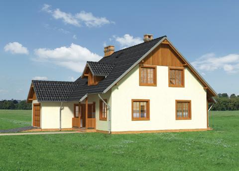 Projekt domu Faustyn