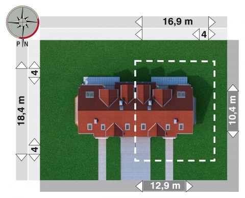 Projekt domu Fermata Duo