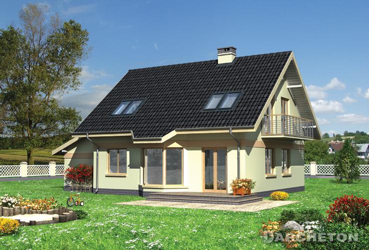 Projekt domu Figa