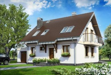 Projekt domu Figa 2 Eko