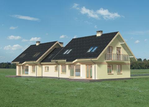 Projekt domu Figa Duo