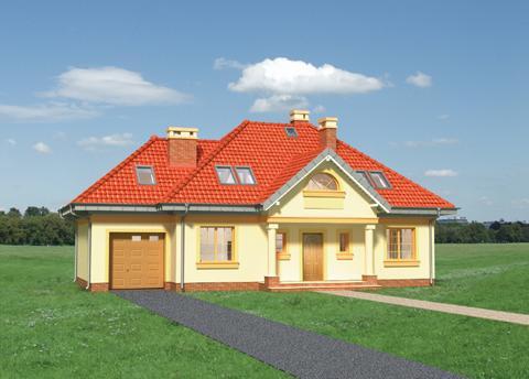 Projekt domu Figa Lux