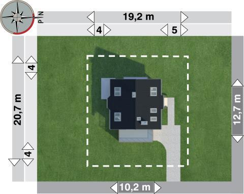 Projekt domu Figa Neo