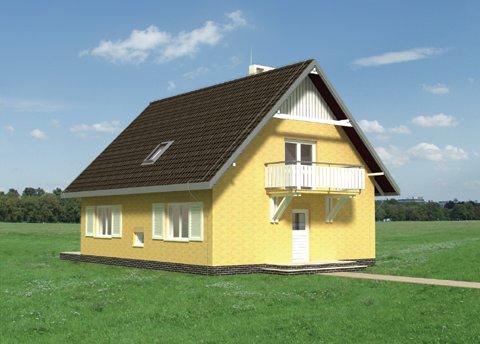 Projekt domu Fikus