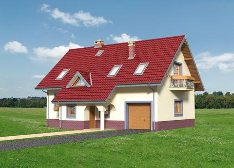 Projekt domu Fiona Polo