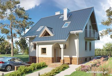 Projekt domu Fiona Stok