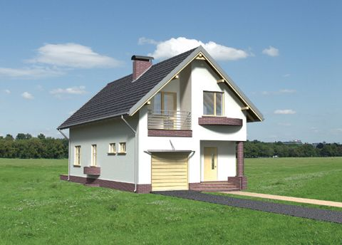 Projekt domu Foka