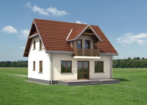 Projekt domu Forsycja