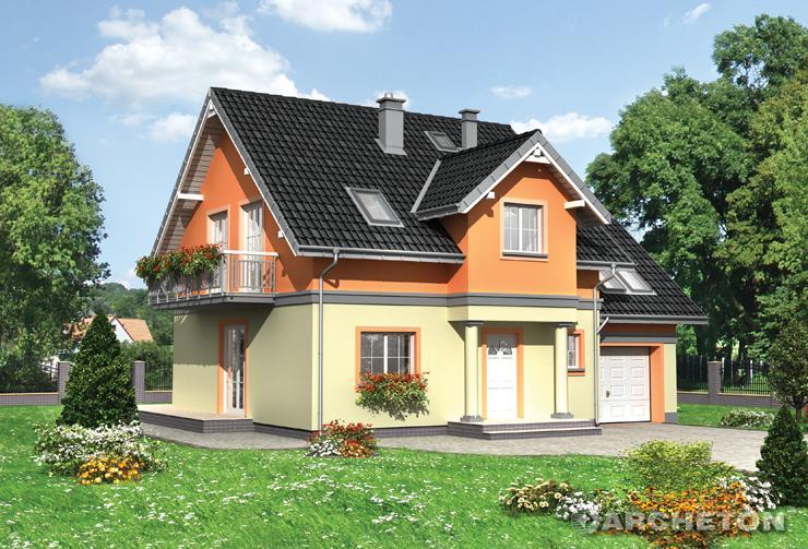 Projekt domu Fryda