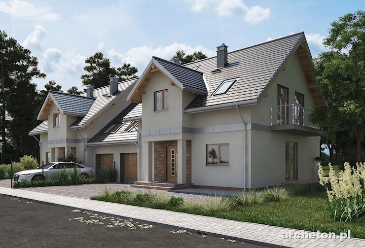 Projekt domu Fryda Duo