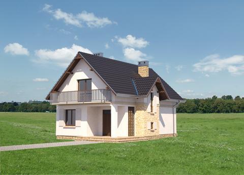 Projekt domu Fuksja