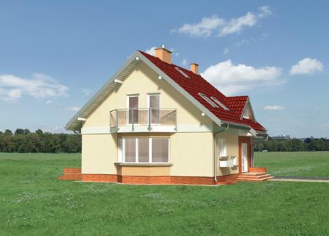 Projekt domu Gala