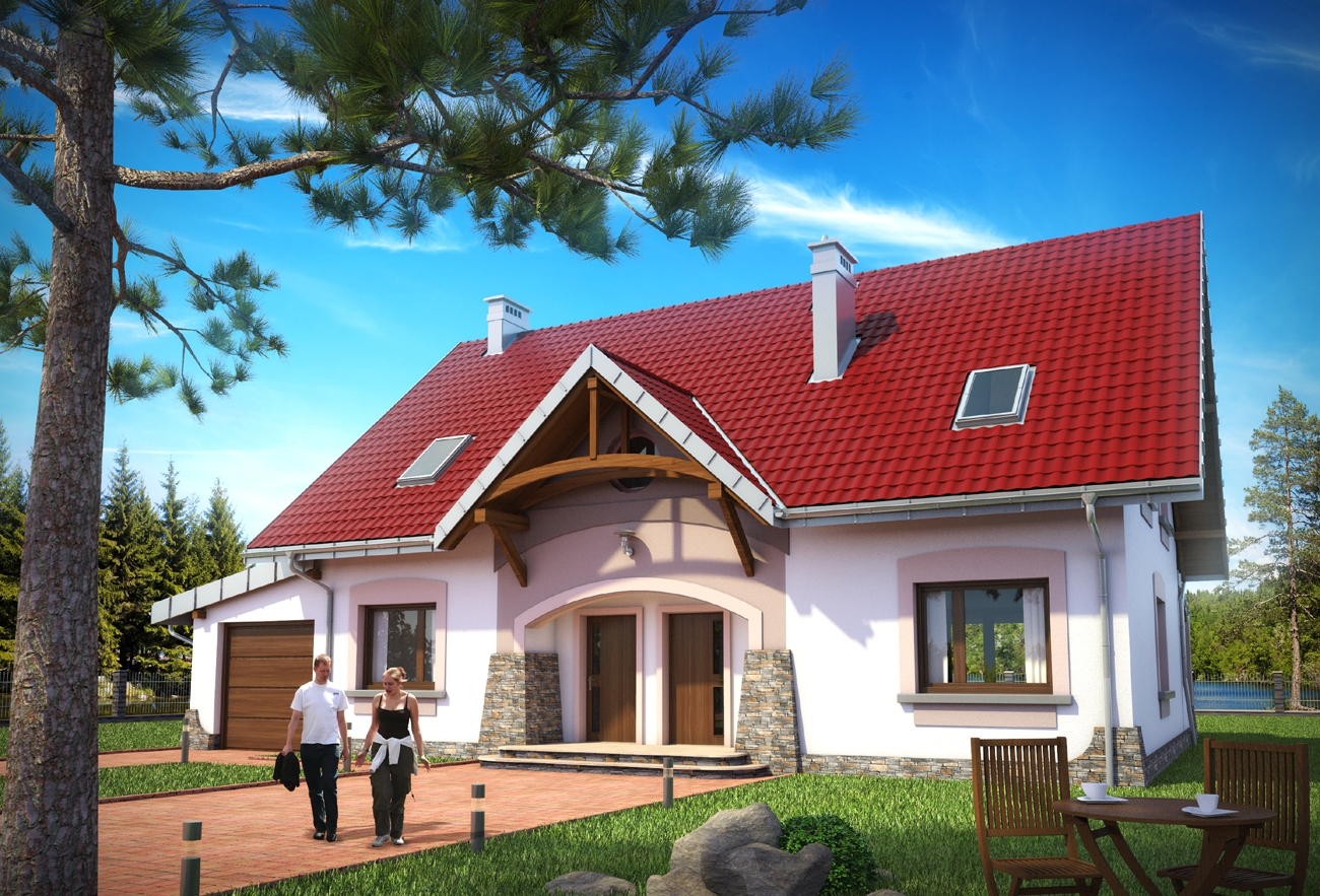 Domy Dwurodzinne Projekty Domów Dwulokalowych Sprawdź Na Archetonpl
