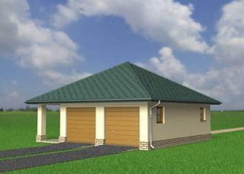 Projekt Garaż 27