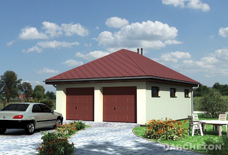 Проект домa Гараж 32