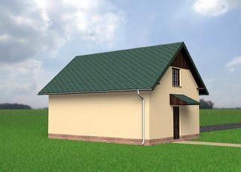 Projekt Garaż M6