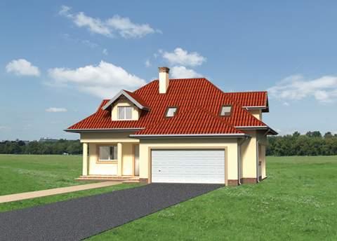 Projekt domu Gaspar