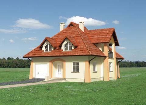 Projekt domu Gawęda