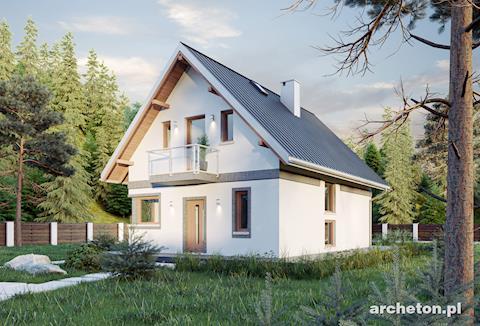 Projekt domu Gawra