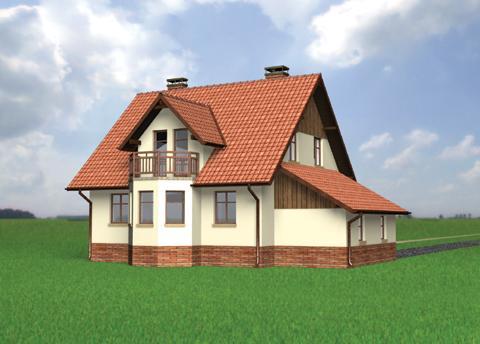 Projekt domu Gil