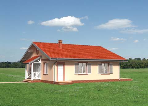 Projekt domu Głaz