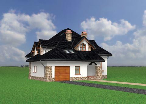 Projekt domu Gniewko