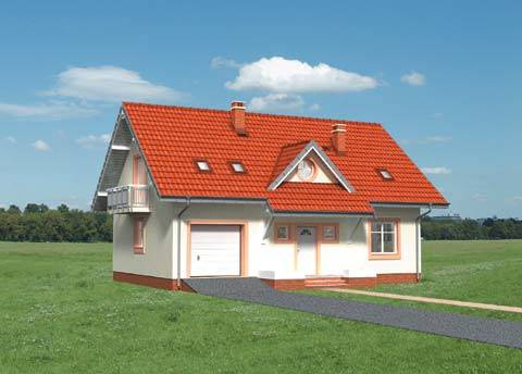 Projekt domu Gozdawa Pik