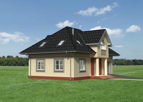 Projekt domu Gozdawa Polo