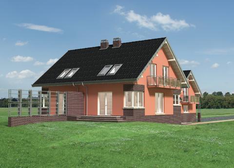 Projekt domu Gracja Duo