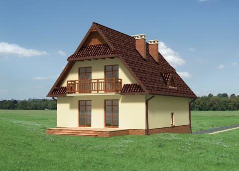 Projekt domu Grań